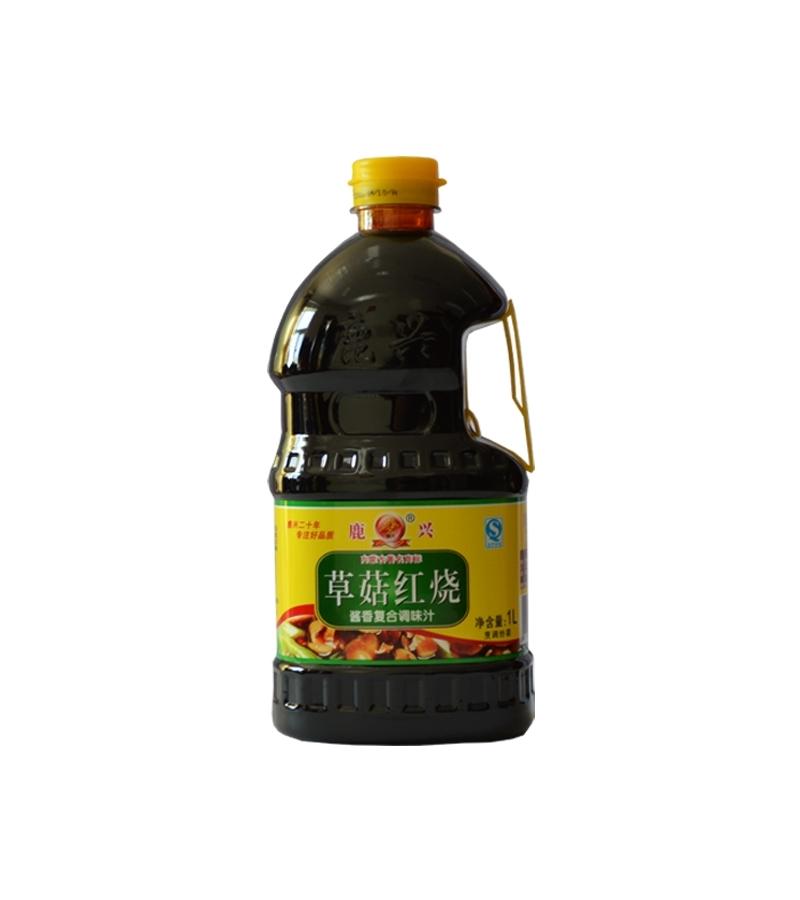 草菇红烧1L